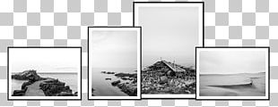 Black And White Foto Factory Photography Poster PNG