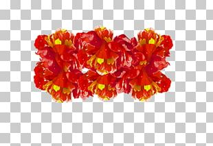 Cut Flowers Red PNG