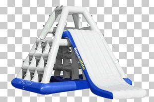 Aquaglide Inflatable Climbing Water Park PNG
