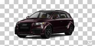 Audi Q7 Compact Car Alloy Wheel Motor Vehicle PNG