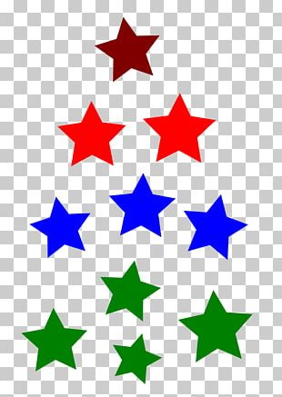 Gold Star Shape PNG
