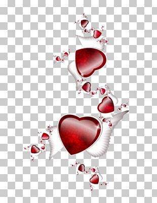 Heart Drawing Valentine's Day Love Painting PNG