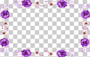 Floral Design Flower Frames Pattern PNG