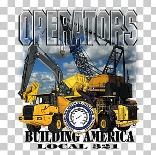 Heavy Machinery Promotional Merchandise International Union Of Operating Engineers PNG