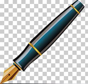 Fountain Pen Ballpoint Pen Quill PNG