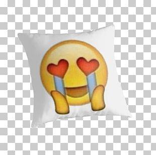 Face With Tears Of Joy Emoji Crying Love Heart PNG