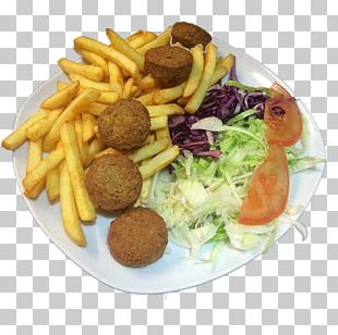 French Fries Full Breakfast Falafel Frikadeller Junk Food PNG