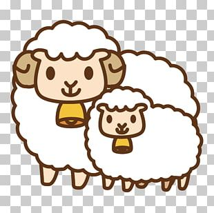 Sheep Cartoon Animated Series Illustration PNG