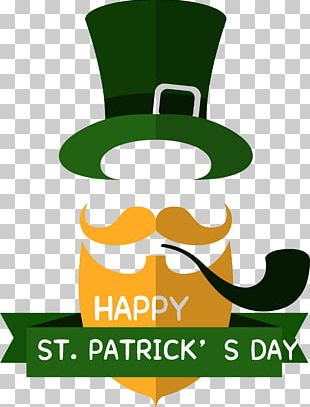 Ireland Saint Patricks Day Flat Design PNG