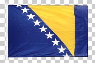 Flag Of Bosnia And Herzegovina Sarajevo Stock Photography PNG