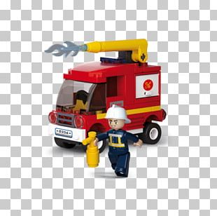 Firefighter Fire Department Water Tender Sluban M38-B0508 Transport Helicopter PNG