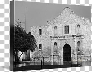 Alamo Mission In San Antonio Stock Photography Frames White PNG