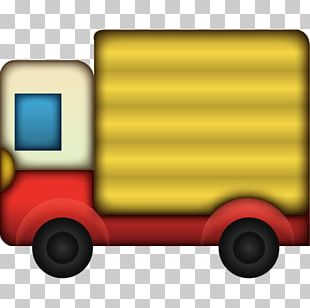 Pile Of Poo Emoji Emoticon Delivery Truck PNG