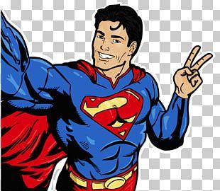 Superman Superhero Man Of Steel Drawing Comics PNG