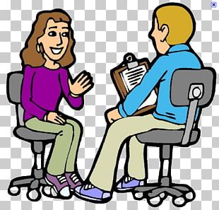 Job Interview Cartoon PNG