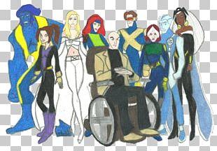 Professor X Spider-Man Gambit Nightcrawler X-Men PNG