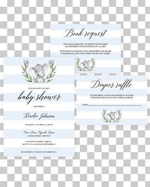 Wedding Invitation Baby Shower Party Birthday Bridal Shower PNG