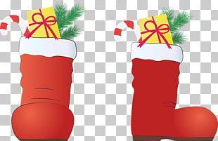 Christmas December 24 Shoe PNG