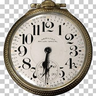 Pocket Watch Hamilton Watch Company Railroad Chronometer Elgin National Watch Company PNG