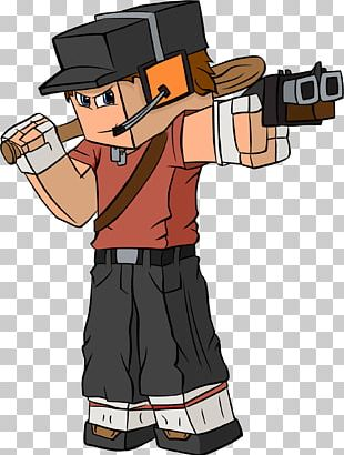 Minecraft Team Fortress 2 Video Game Mod Cartoon PNG