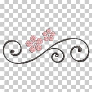 Machine Embroidery Ornament Pattern PNG