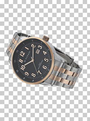 Watch Strap Steel Metal Silver PNG