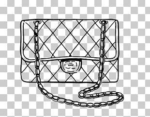 Coloring Book Drawing Chanel Fashion Handbag PNG