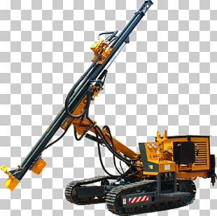 Machine Drilling Rig Augers Mining Drilling And Blasting PNG