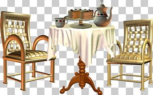 Table Dining Room Chair Kitchen Matbord PNG