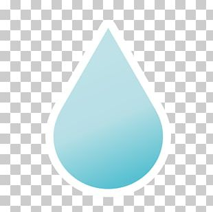 Turquoise Triangle PNG