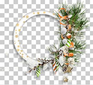 Frames Christmas Ornament Garland PNG