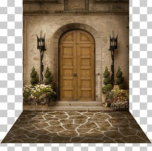 A Medieval Castle Door Window Floor PNG