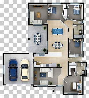 Floor Plan House Plan Prefabricated Home PNG