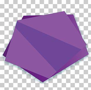Triangle Purple Pattern PNG