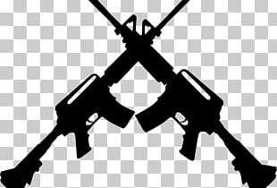 M4 Carbine Assault Rifle AR-15 Style Rifle M16 Rifle PNG