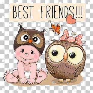 Owl Cartoon Infant PNG