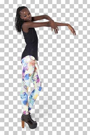 Leggings Hip-hop Dance Shoulder Jeans PNG