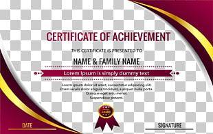 Public Key Certificate Academic Certificate Diploma PNG
