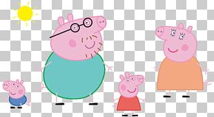 Paultons Park Domestic Pig Brand Illustration PNG