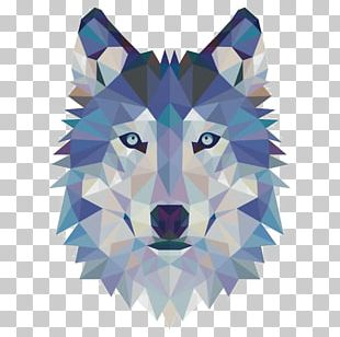 Gray Wolf Sticker Wall Decal Modern Art PNG