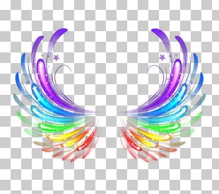 Light Wing Feather Halo PNG