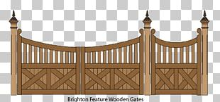 Picket Fence Gate Garden PNG