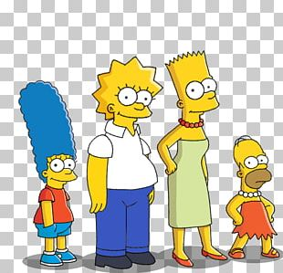 Bart Simpson The Simpsons Guy Homer Simpson Maggie Simpson Marge Simpson PNG