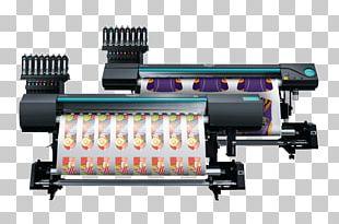 Dye-sublimation Printer Printing Paper PNG