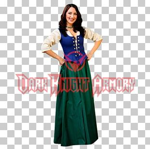 Middle Ages Dress Costume Design Clothing PNG