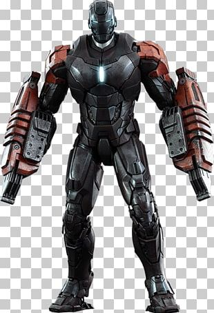 Iron Mans Armor Extremis Aldrich Killian Action Figure PNG