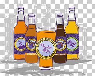 Purple Moose Brewery Ltd Beer Bottle India Pale Ale PNG