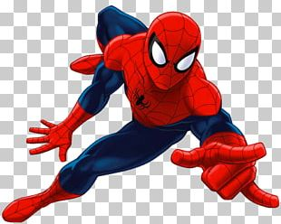 Ultimate Spider-Man Iron Man Marvel Comics Wall Decal PNG