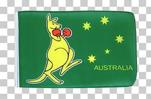 Flag Of Australia Boxing Kangaroo Flag Of Australia PNG