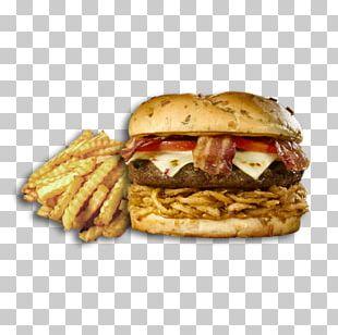 French Fries Cheeseburger Hamburger Junk Food Breakfast Sandwich PNG